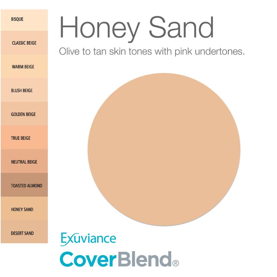 exuviance foundation honey sand