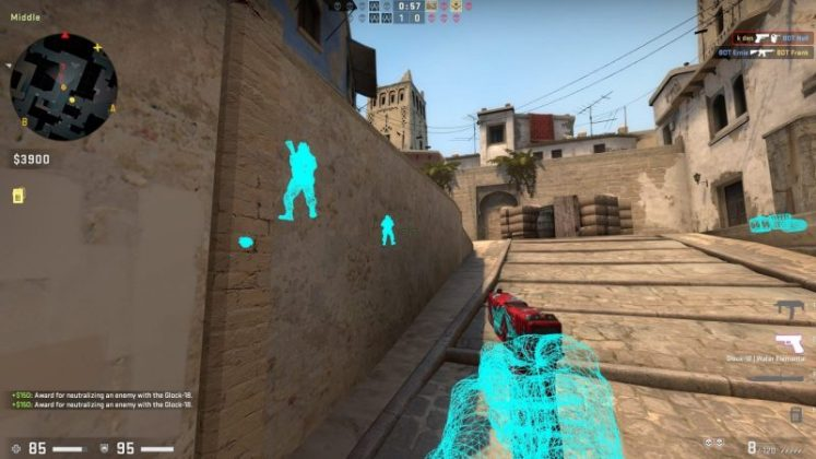 """هنا"" cs go wall hack kodu 