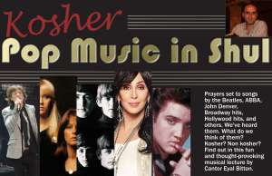 Kosher Pop Music Flier
