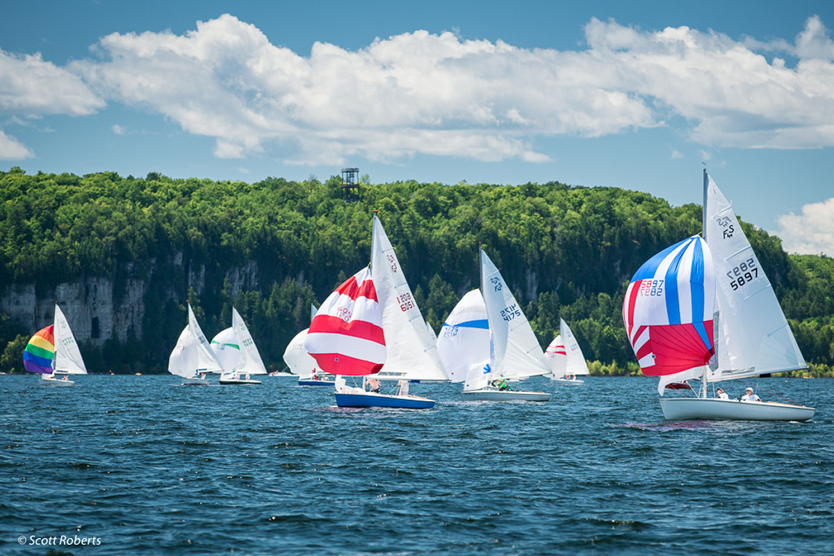Door County Sailing Amp Sailing Lessons At Ephraim Yacht Club