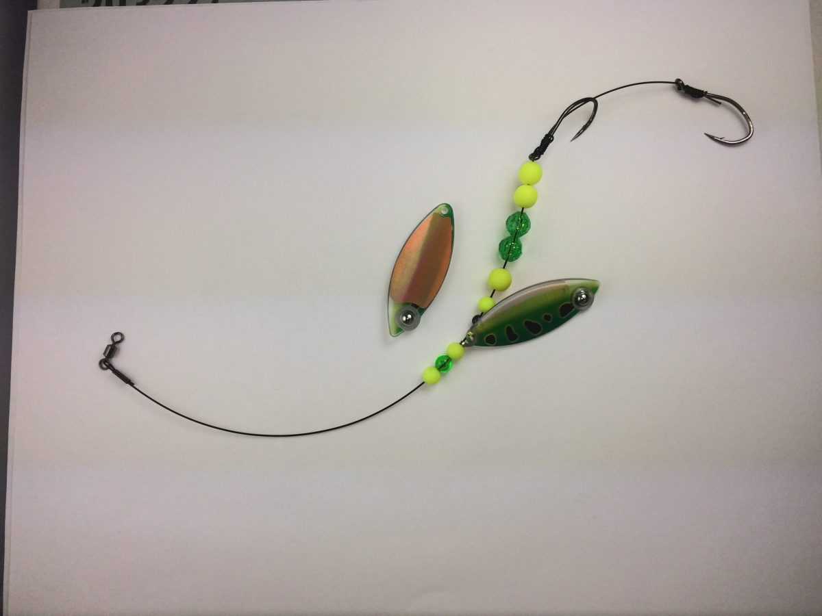 Green Frog Single Blade Wire Harness with Copper backing | Eye-Fish ...