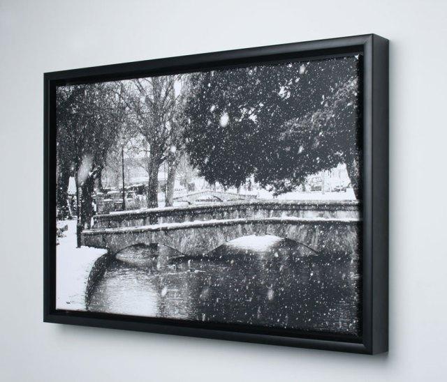 Framed Floating Canvas - Eyecandy Art Group