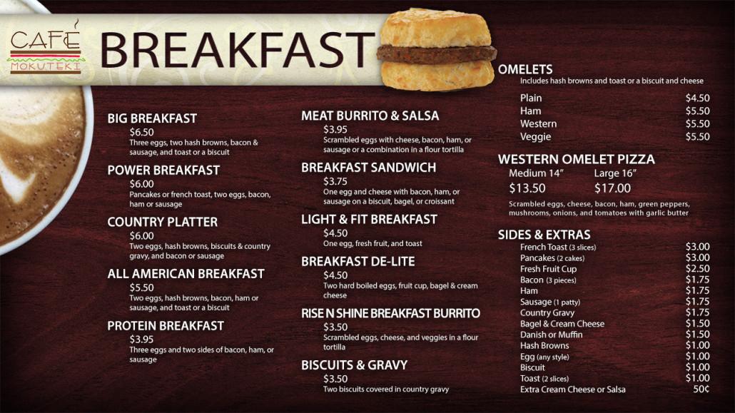 Breakfast Cafe Near Me