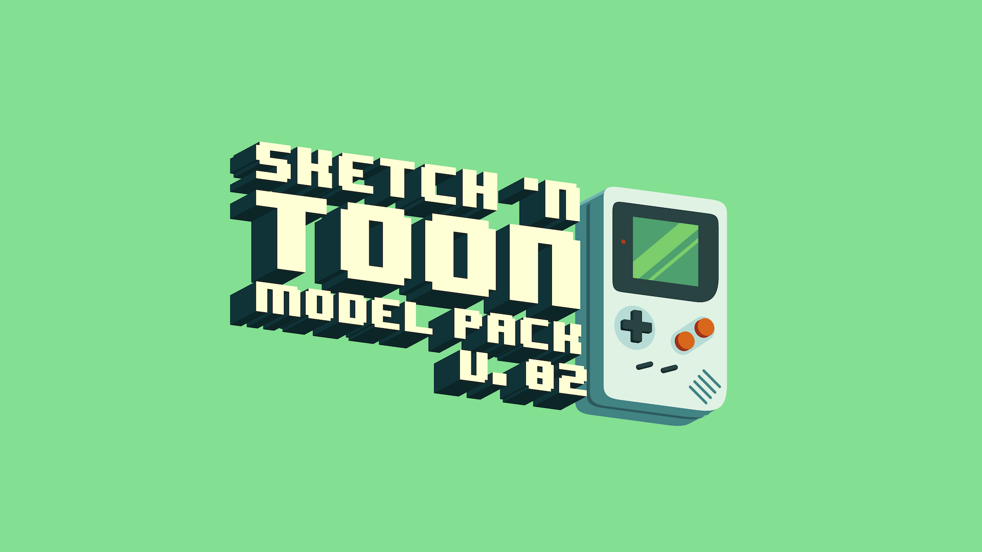 Sketch toon model pack v 02
