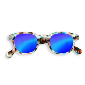Blue Tortoise Mirror #C Sun izipizi