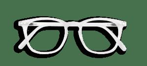 izipizi #e white reading glasses