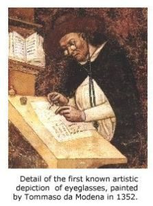 eyewear in the middle ages