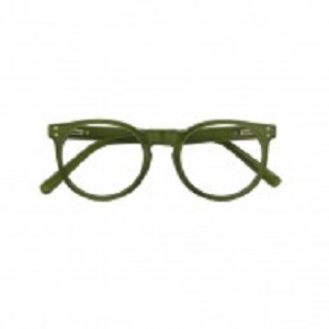 kensington army green fashionable reading glasses for men and women from croon