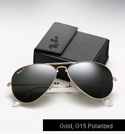 Ray Ban Folding Aviator Sunglasses RB 3479