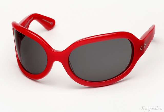 Oliver Goldsmith Yuhu Sunglasses - Red