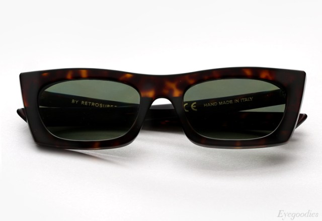 Super Fred 3627 Green Sunglasses
