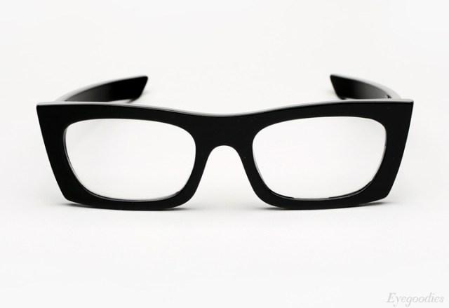 Super Fred Black Eyeglasses