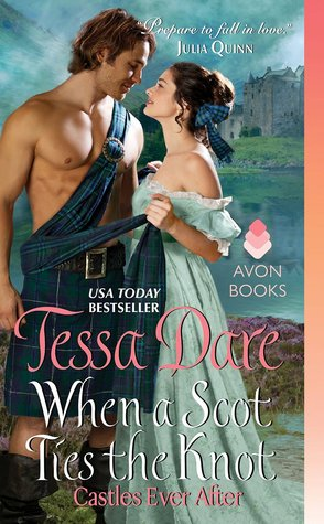 When a Scot Ties the Knot by Tessa Dare | Book Review + Giveaway