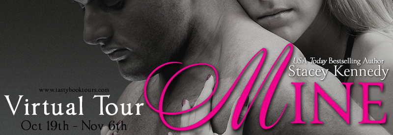 Mine by Stacey Kennedy   Book Review + Giveaway