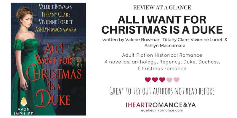 All I want for Christmas Anthology Skinny Review