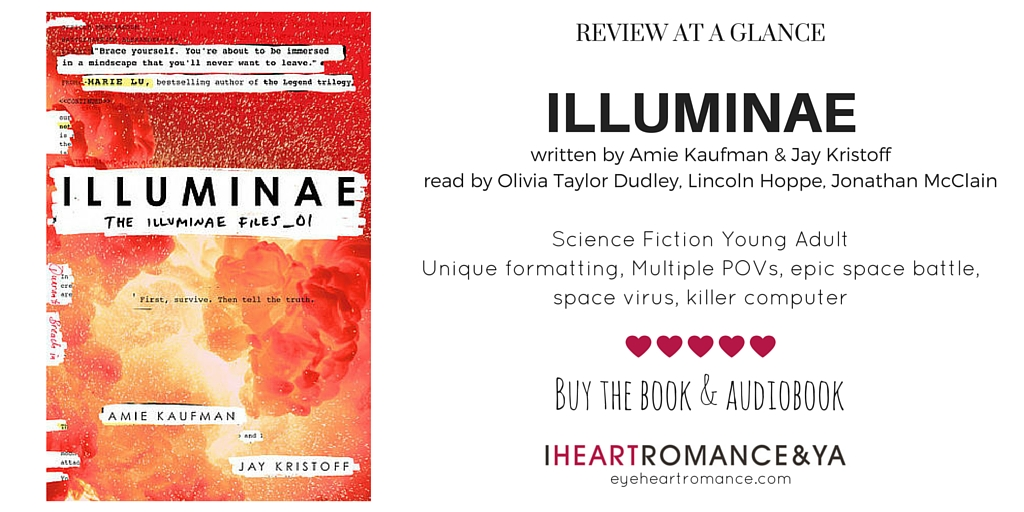 Illuminae by Amie Kaufman and Jay Kristoff Skinny Review