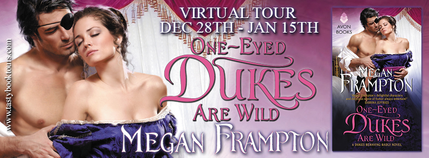 One Eyed Dukes are Wild by Megan Frampton | Book Review + Giveaway