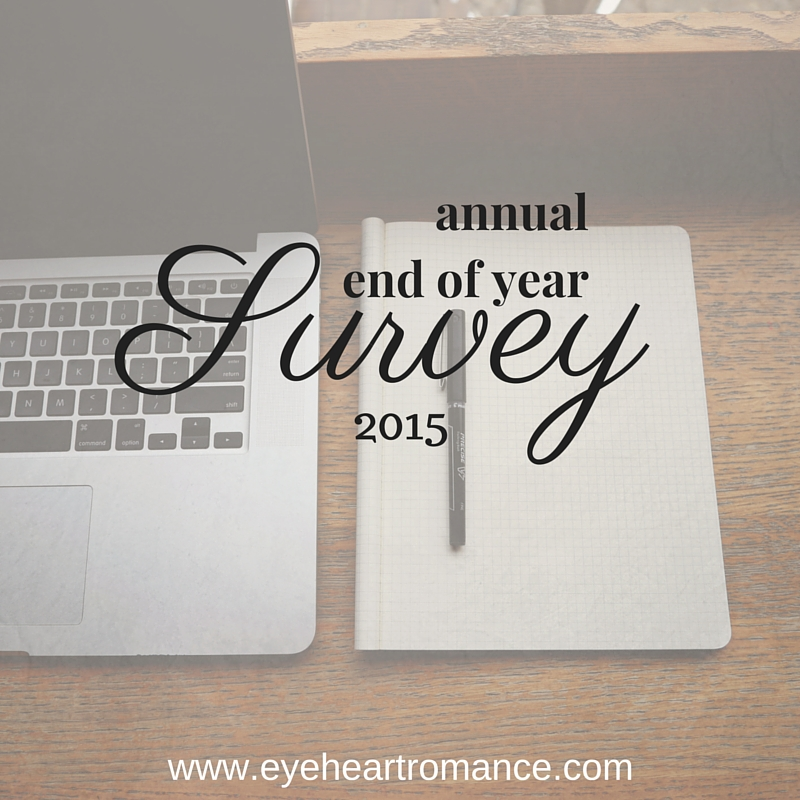 6th Annual End Of Year Survey – 2015 Edition