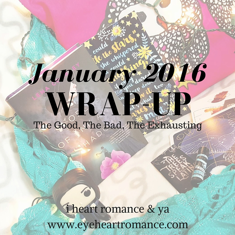 Monthly Wraps: January 2016
