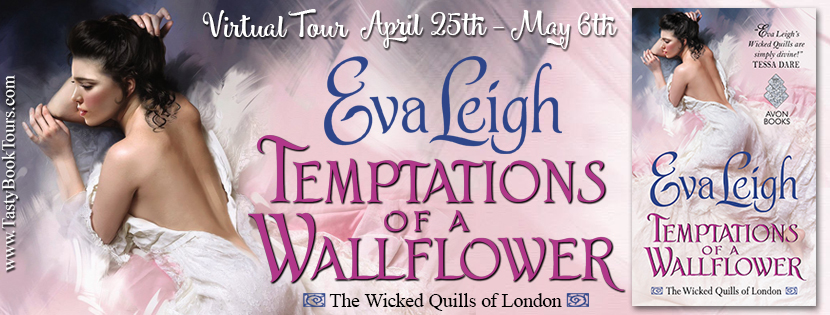 Temptations of a Wallflower by Eva Leigh | Book Review + Giveaway