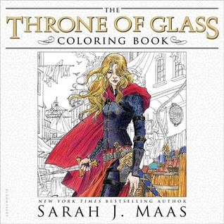 The Throne of Glass Coloring Book Review
