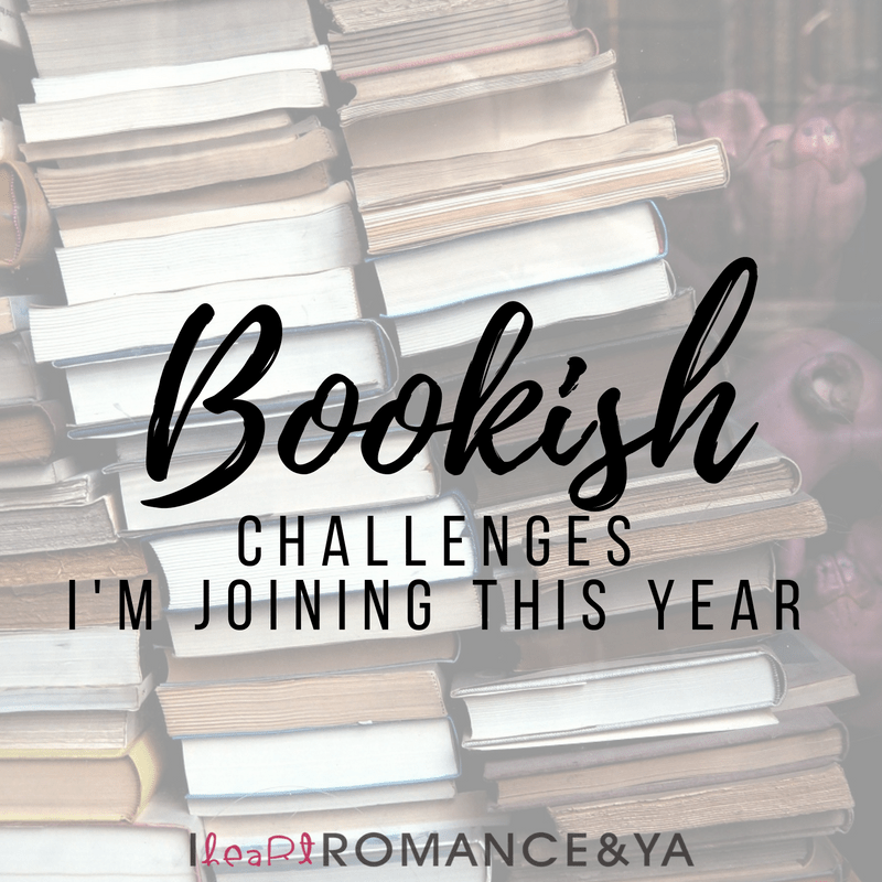 2017 Bookish Challenges I'm Joining this Year