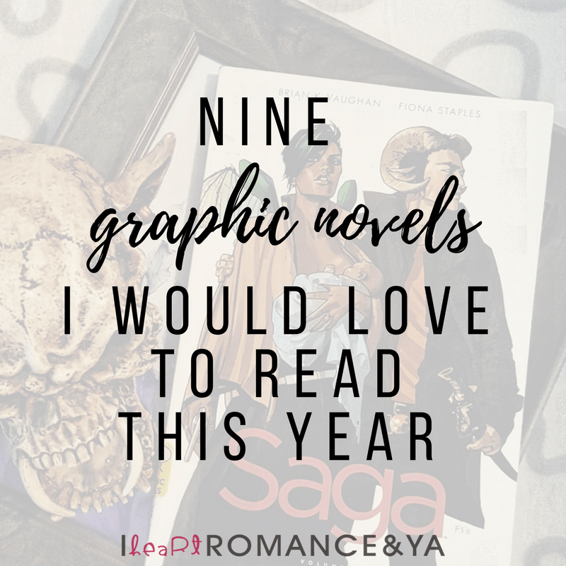 9 Graphic Novels I would Love to Read this Year