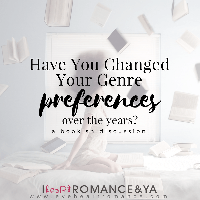 Have You Changed Your Genre Preferences Over the Years?