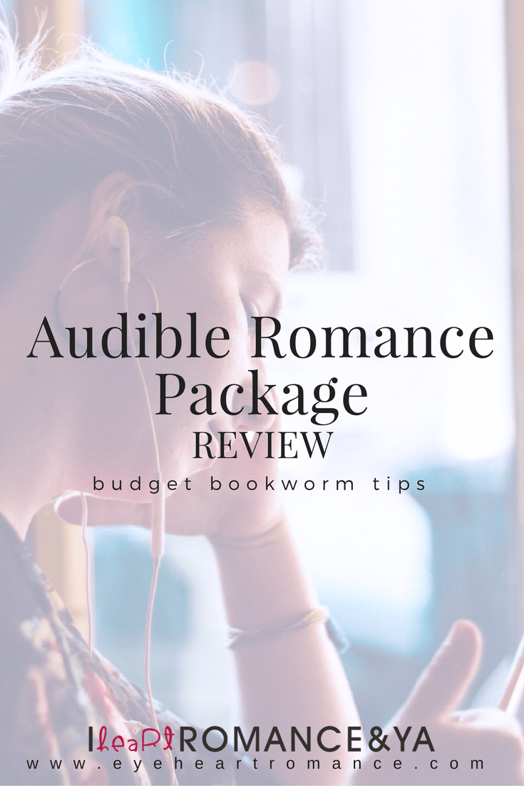 Reading on a Budget: Audible Romance Package + Review