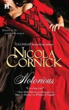 Notorious by Nicola Cornick Cover