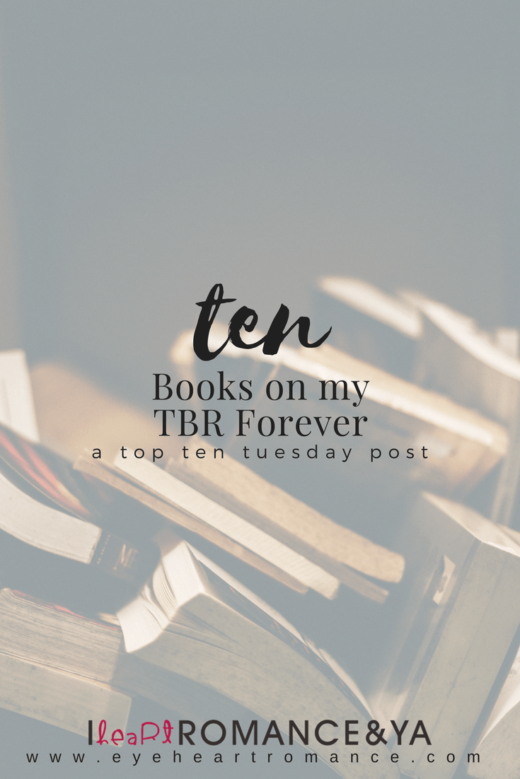 10 Books on my TBR Forever