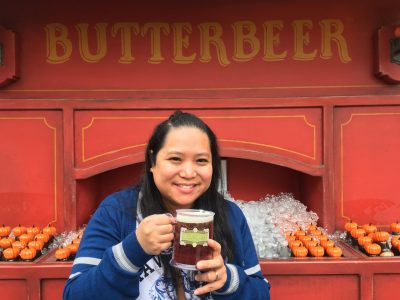 Photo of Me & a Butterbeer