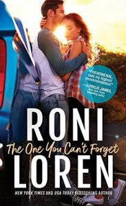 The One You Can't Forget by Roni Loren Book Cover