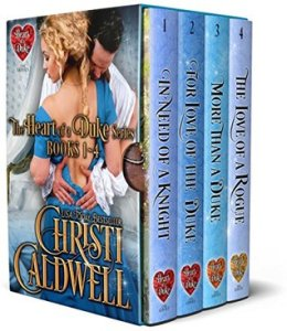 The Heart of the Duke Bundle by Christi Caldwell