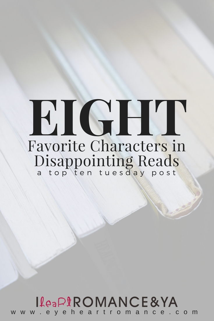 Favorite Characters in Disappointing Reads