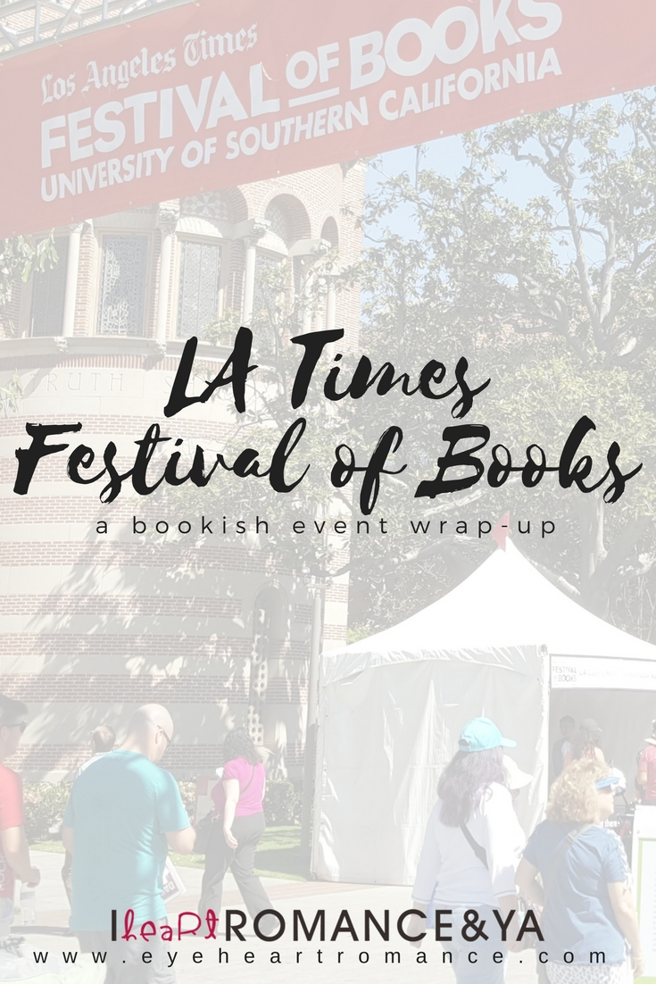 LA Times Festival of Books Wrap-Up
