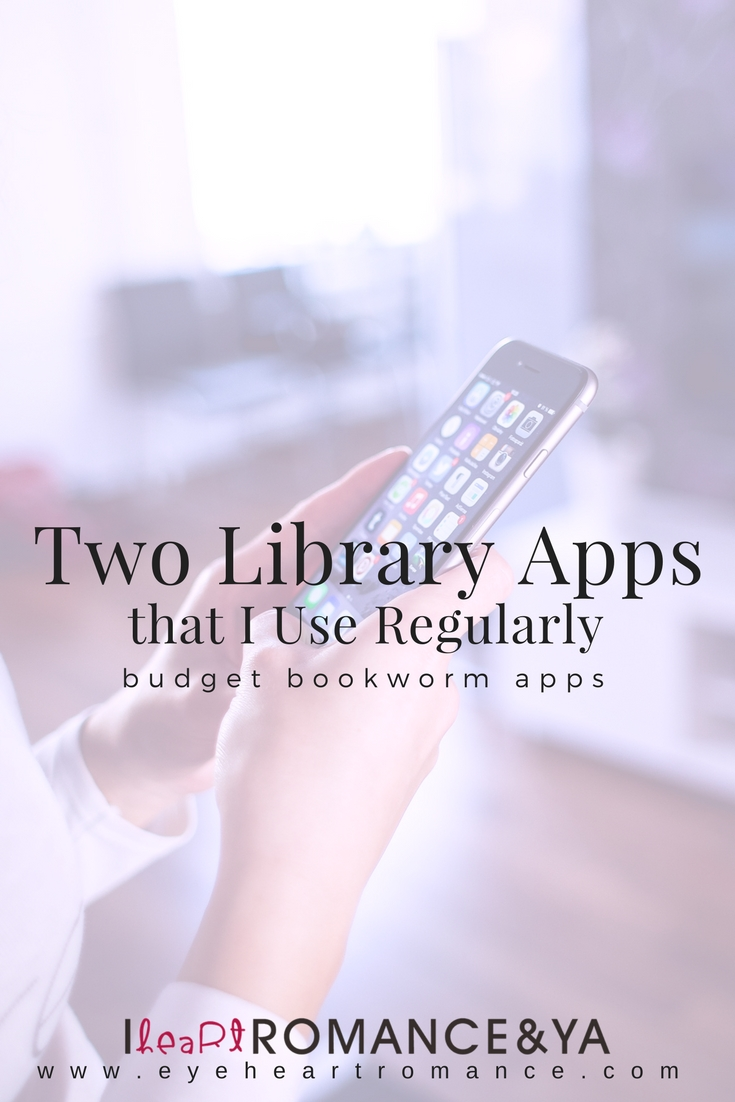 Budget Bookworm: Two Library Apps I Use Regularly