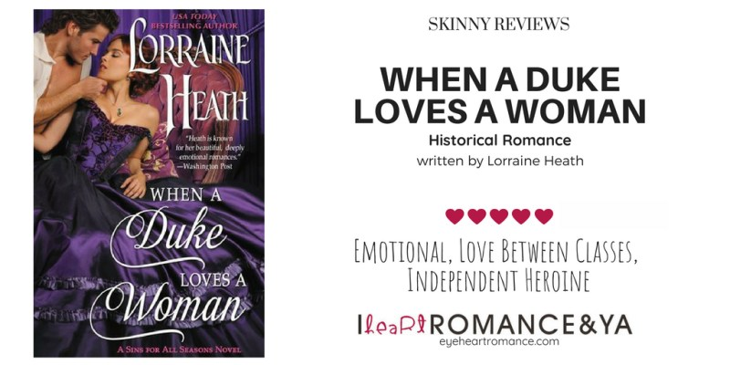 When a Duke Loves a Woman Skinny Review