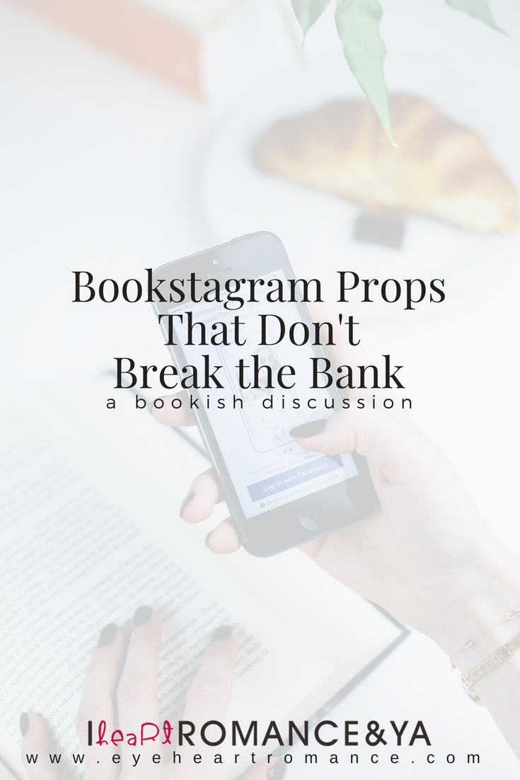 Bookstagram Props That Don't Break the Bank