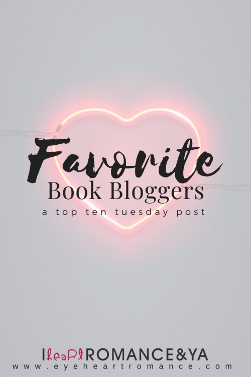 Favorite Book Bloggers