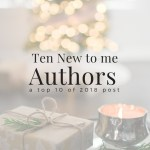 Ten New to me Authors