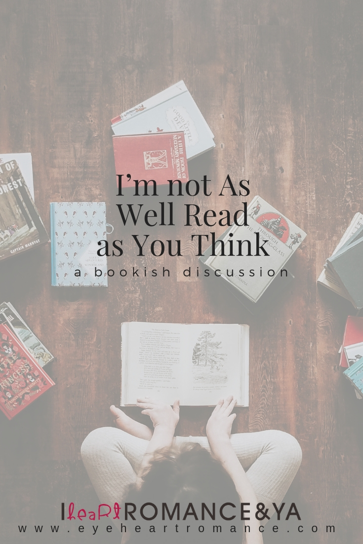 I'm not As Well Read as You Think