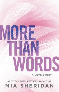 More than Words by Mia Sheridan