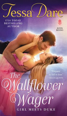 The Wallflower Wager by Tessa Dare [Giveaway]