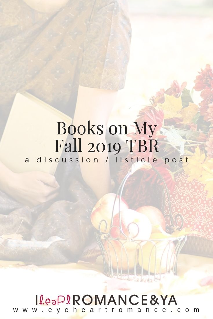 Books On My Fall 2019 TBR