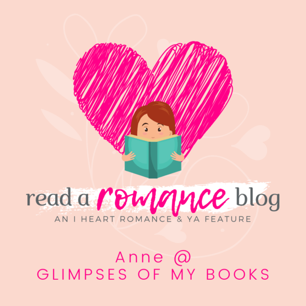 Featuring our favorite romance book bloggers! Happy Wednesday, Wormies! Welcome to another Read a Romance Blog feature! Today, we're featuring Anne @ Glimpses of My Books! Read a Romance Blog series is a feature on this blog showcasing book bloggers that primarily review romance. ABOUT THE ROMANCE BLOGGER My Blog Where You Can Find Me First Romance Book I Read Favorite Romance Genre/s Favorite Romance Trope/s Top 3-5 Auto-buy Authors Top 3-5 Romance Books You Highly Recommend Top 3-5 Romance Series You Recommend Favorite Quote from a Romance Book Favorite Thing About the Romance Community Romance Myth that You Hate Are you a romance book blogger? Do you want to be featured? Please, sign-up here!