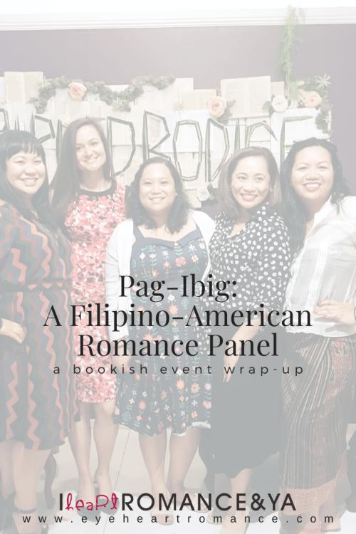 Pag-Ibig: A Filipino-American Romance Panel