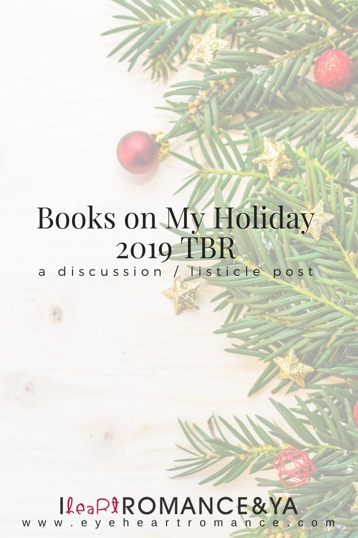Books on My Holiday 2019 TBR