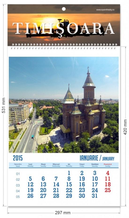 calendar de perete 2015