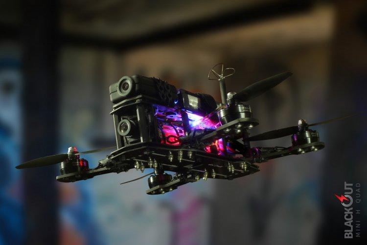 drona fpv racing